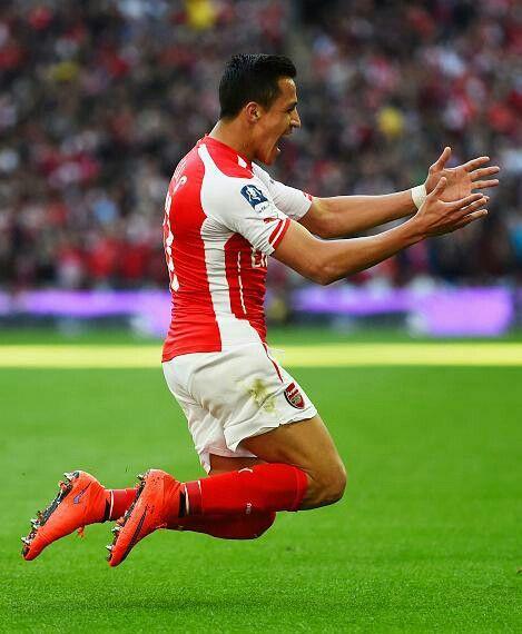 Alexis was Brilliant! #Arsenal #FACupSemiFinals