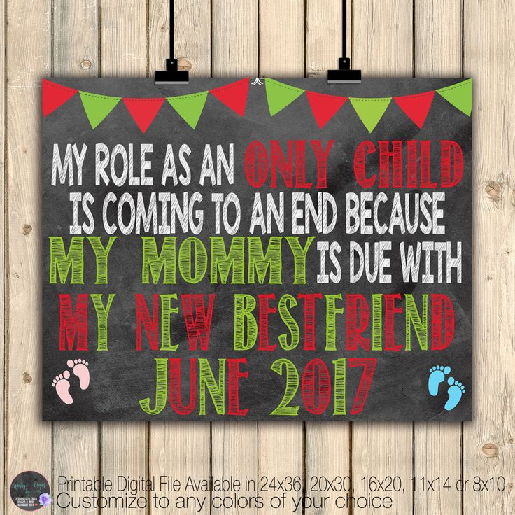 Christmas Chalkboard Pregnancy Announcement Sign, Big Sister Brother To Be, Mommy is Due, Baby On The Way, Baby Feet, Pink, Blue, Digital by SquishyDesignsbyMe on Etsy