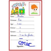 Creating a French Identity Card