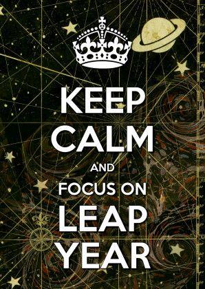 Schrikkeljaar - Leap Year 2 - Kaartje2go © Lorie Davison