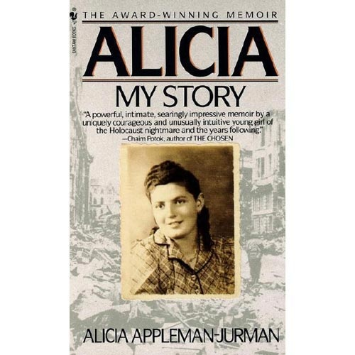 alicia my story. It's amazing what this woman went through during the holocaust. What most of us have went through is nothing