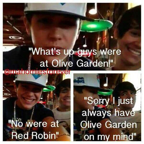 Ok so yes we have established austin loves olive Garden