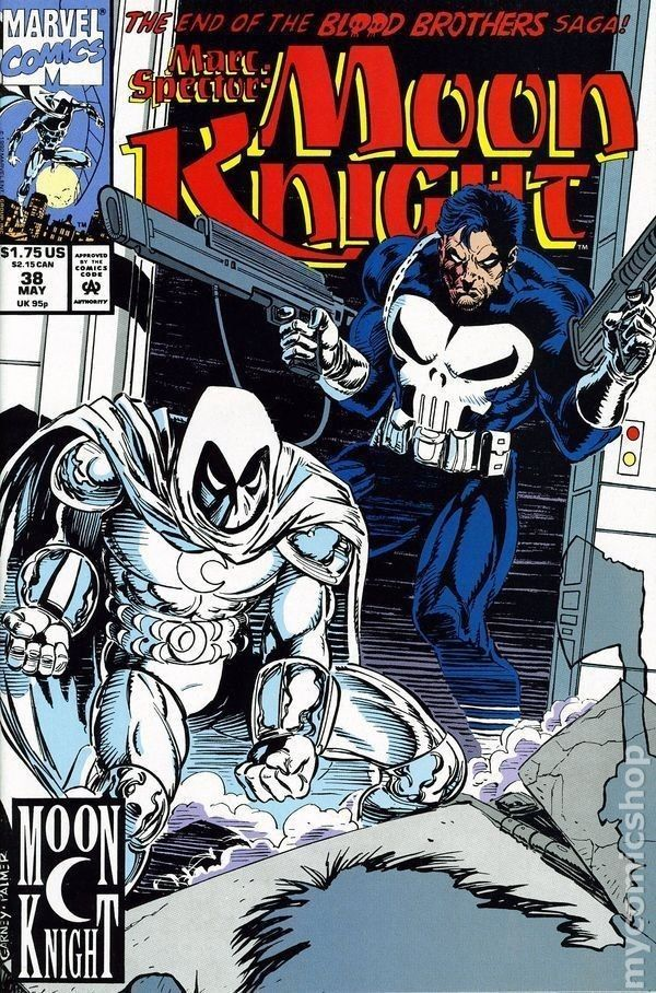 Marc Spector: Moon Knight #38 (May 1992, Marvel) NM with Punisher Comic | eBay