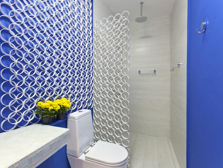 +1000 ideias sobre Projetos De Tubos De Pvc no Pinterest  tubos de PVC, Móve -> Banheiro Decorado Com Pvc