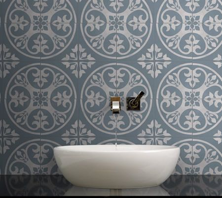 Artisan Oslo Tile In Denim Bathing Beauties Pinterest