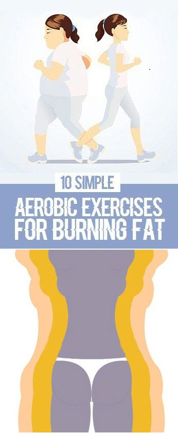 Simple Aerobic Exercises for Burning Fat