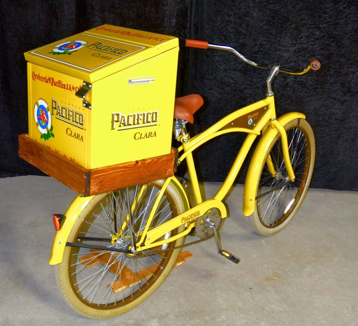 Pacifico beer beach cruiser