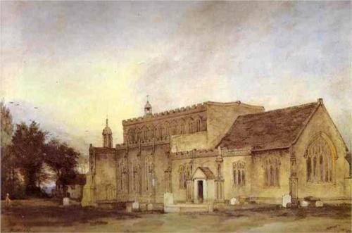 East Bergholt Church - John Constable