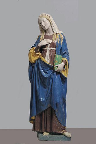 Andrea e Luca della Robbia il giovane - Annunciazione (Madonna) [1490-95] #TuscanyAgriturismoGiratola