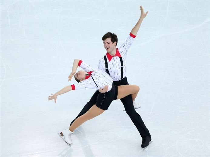 DAY 5: Miriam Ziegler and Severin Kiefer of Austria compete during the  Figure Skating Pairs