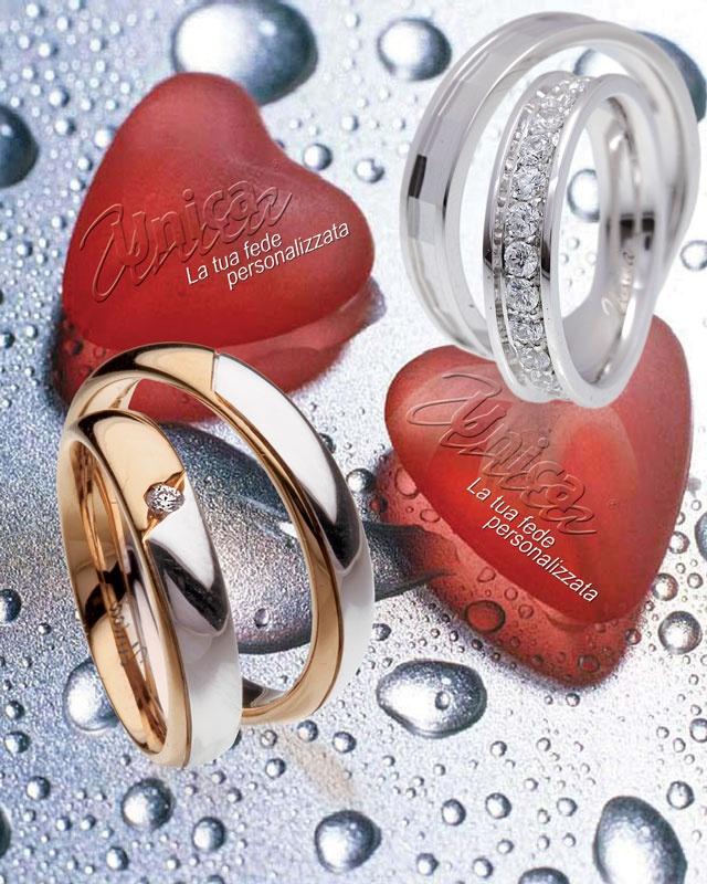 Unica la fede nuziale che interpreta il tuo Amore... creata solo per Voi... scopri il valore del significato...