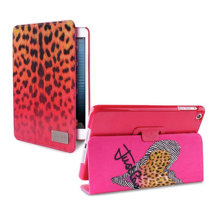 Just Cavalli Macro Leopard Case για iPad mini ροζ, Θήκη προστασίας για iPad mini.