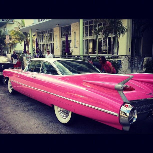 old school cars #pink