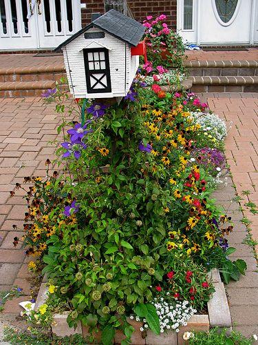Garden Ideas Around Mailbox best 10+ mailbox garden ideas on pinterest | mailbox ideas, mail