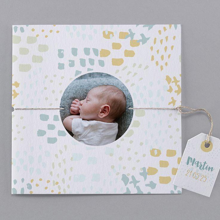 Faire-part de naissance - B26-014