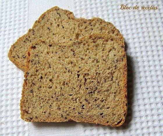 Bloc de recetas: Pan de espelta integral en panificadora