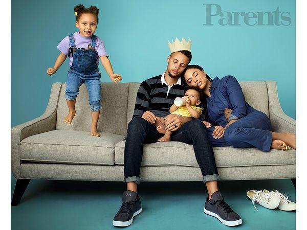 Stephen Curry Riley Parents Magazine