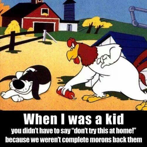 So true. I Love Fog Horn Leg Horn!