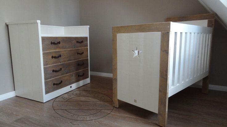 42 best landelijke babykamer images on pinterest. Black Bedroom Furniture Sets. Home Design Ideas