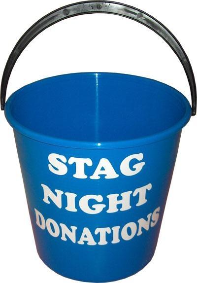 stag night donation bucket - http://www.stagandhenbirmingham.co.uk/