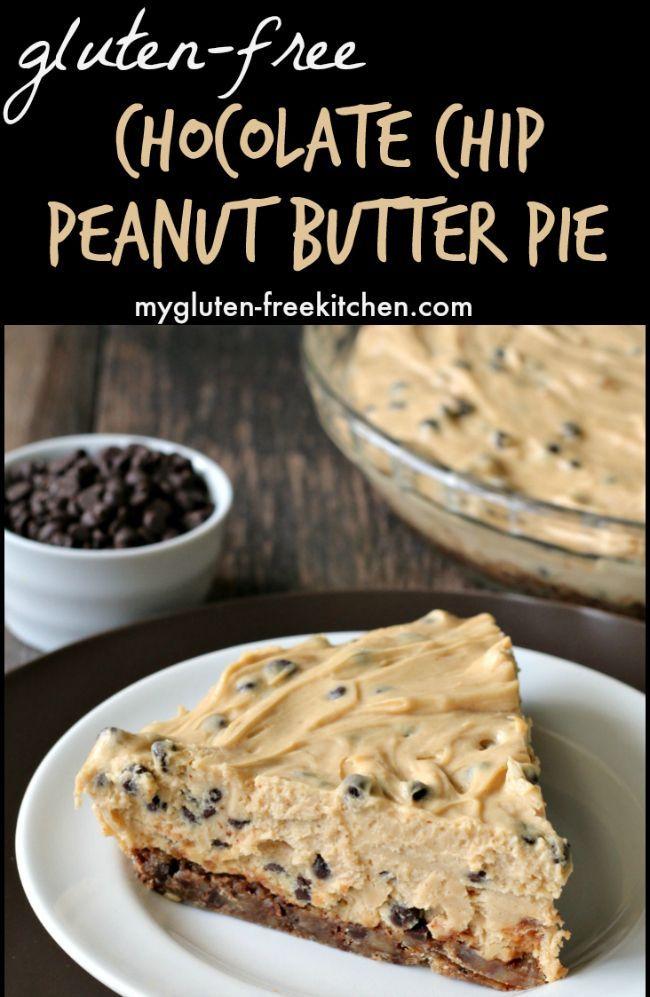 Gluten Free Chocolate Chip Peanut Butter Pie Recipe Gluten