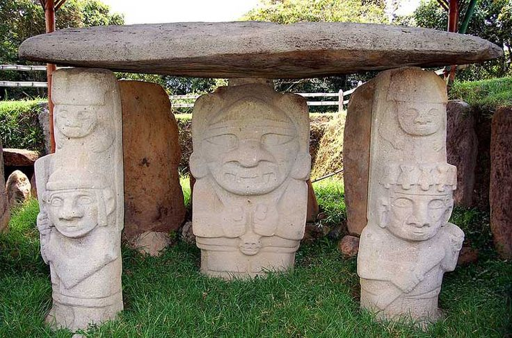 Parque arqueológico de San Agustín. Y hoy #Neiva es #DestinoFavorito de #Easyfly. Más aquí www.easyfly.com.co/Vuelos/Tiquetes/vuelos-desde-neiva