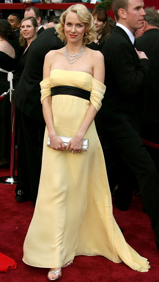 Red Carpet Maternity Dresses - Naomi Watts
