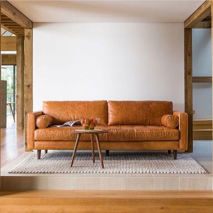 Tan Sven Charme Sofa Home Dcor Amp Furnishings Sofa Leather Sofa Living Room
