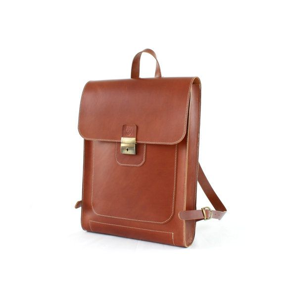 GENUINE LEATHER BACKPACK, 15 inch laptop bag, Leather backpack, Bags and purses, Backpacks, Luxury bags, Men's backpack, Leather rucksack