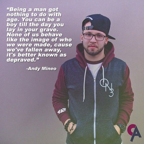 Andy Mineo | 1.1.Six | Pinterest