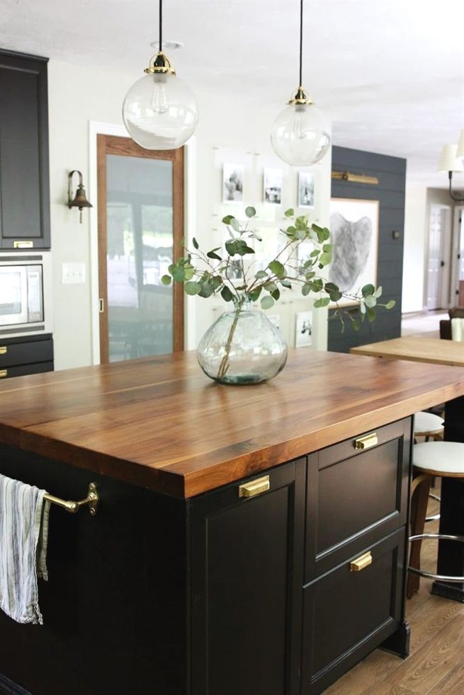 How To Put Your Kitchen Credenza Decoration De Cuisine Cuisine Moderne Cuisines Maison