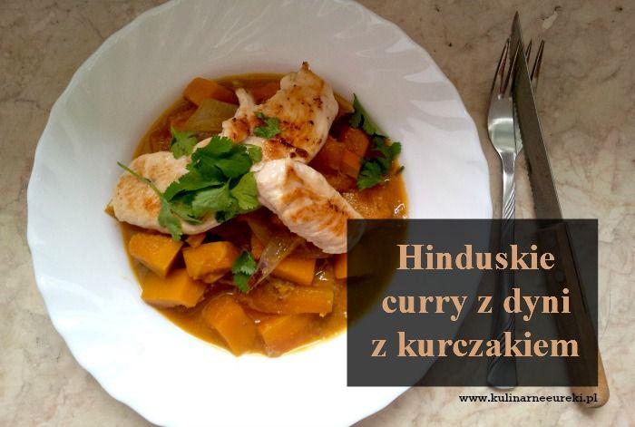 Hinduskie curry z dyni z kurczakiem1