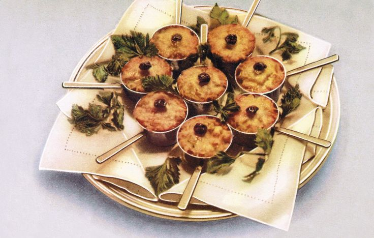 One of the most popular hors d'oeuvres of the Soviet era, Gribni Julienne, is baked individually in cocottes.
