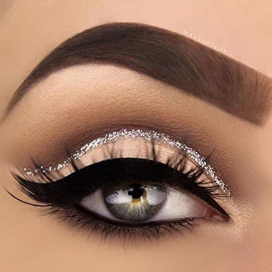 Make árabe glamour 2 para os olhos