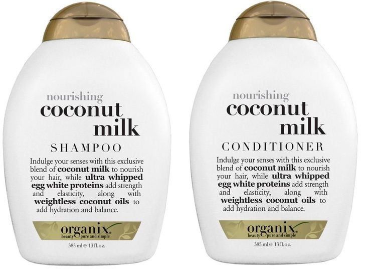 Organix: Nourishing Coconut Milk Shampoo   Conditioner, 13 oz Combo Pack >>> Want additional info? Click on the image.