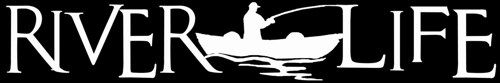 River Life Decal with Fisherman Design C for car,boat truck,atv,wall,window,laptop | LilBitOLove - Housewares on ArtFire