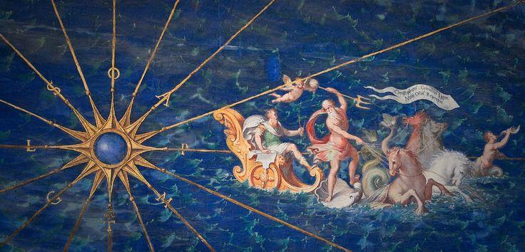Map of Liguria, Vatican Museums, Maps Gallery