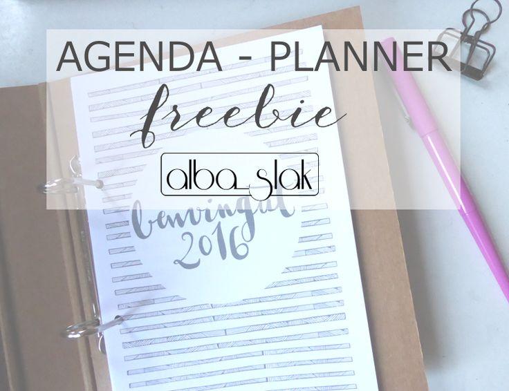 el planeta slak: Agenda 2016 Imprimible i gratuita...