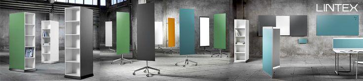 Lintex er markeds bedste producent inden for indretningsprodukter til visuel kommunikation. Lintex producerer whiteboards, tavler, glastavle...