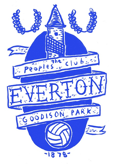 Everton via eye jay tea on Flickr