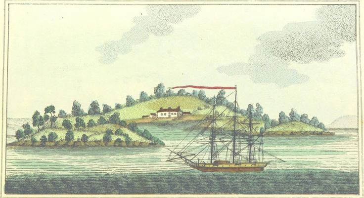 Garden Island by Woodthorpe Pub. March 5, 1803, by M. Jones, Paternoster Row