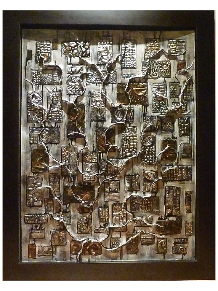 """Cathy Jolicoeur - """"Memento"""" 48"""" x 36"""" For lease or purchase www.artli.ca Lease: $95/month"""