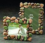 Pebble frame, nice for a dino room :)
