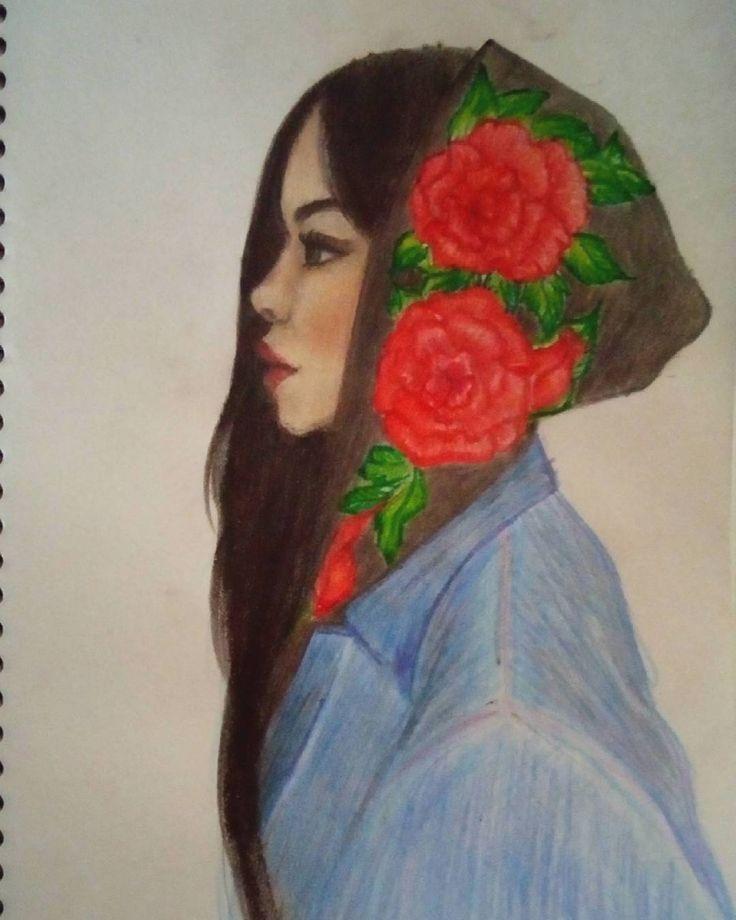 «#mywork #art #artstagram #drawing #sketchbook #watercolor #illustration #artist #artpop #beauty…»