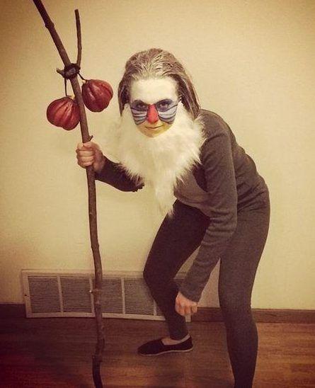 Affenkostüm selber machen   Kostüm Idee zu Karneval, Halloween & Fasching