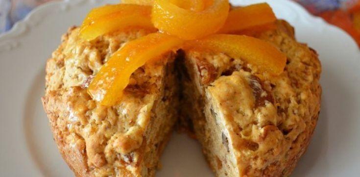 Αγιορείτικη συνταγή: Κέικ με πορτοκάλι και σταφίδες αλάδωτο