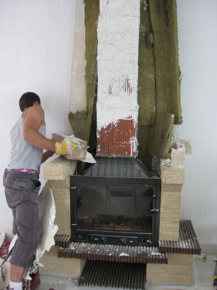 Customiser sa cheminée avec photo!! Salons and Foyers
