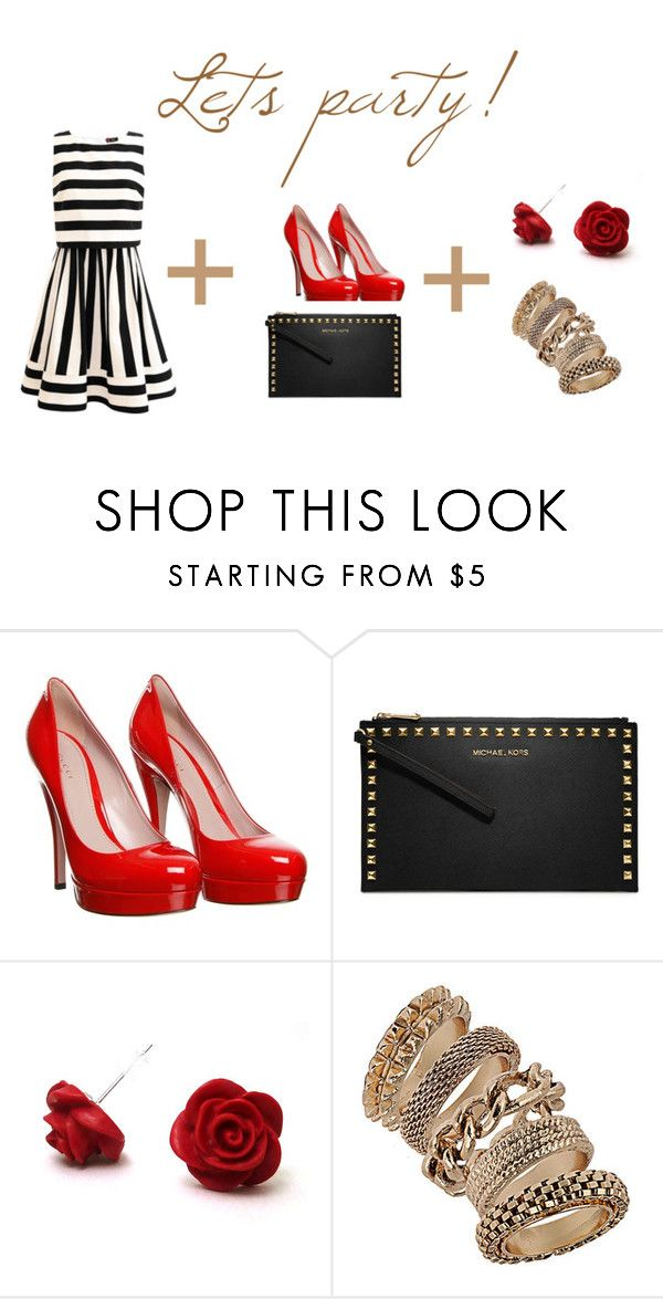 Elegant by clarairawan on Polyvore featuring Gucci, MICHAEL Michael Kors and Dorothy Perkins