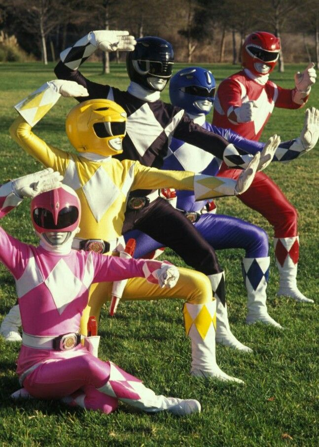 Original Power Rangers 1993