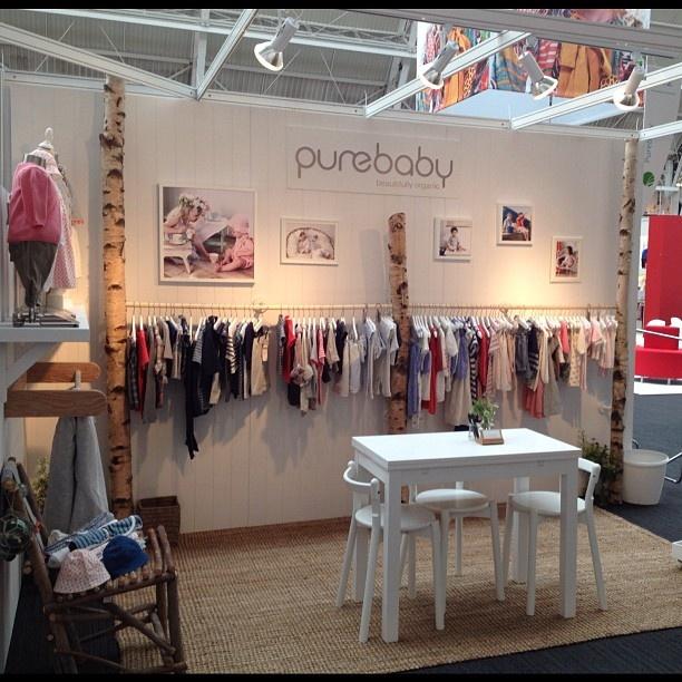 Purebaby's UK launch at Bubble expo - @purebabyorganic- #webstagram
